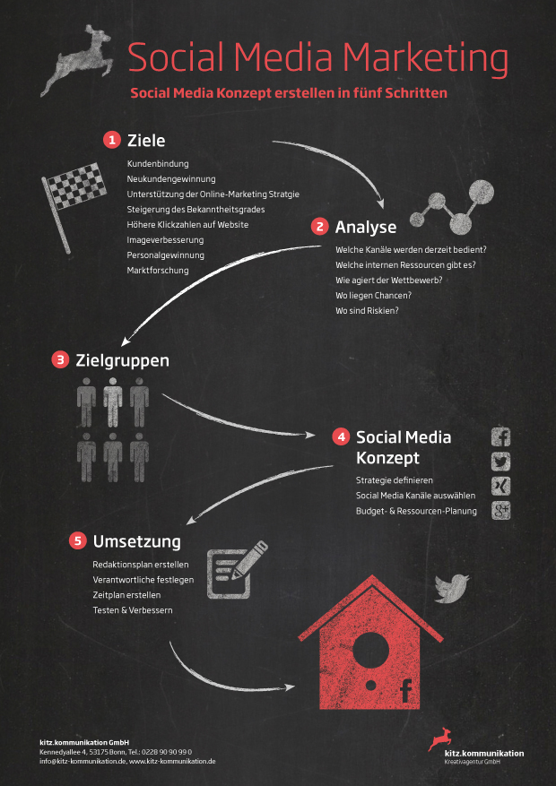 Infografik – Social Media Marketing Bonn