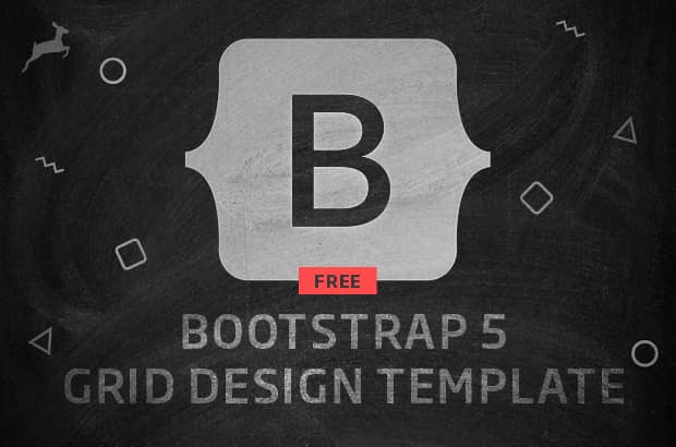Bootstrap 5 Grid Design Template